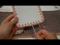 Tutorial   borsa bauletto all'uncinetto con materiali by Tessiland