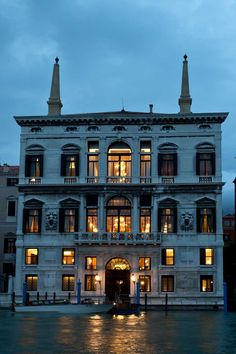 Exterior of The Aman Canal Grande Venice Hotel, where George Clooney and Amal Alamuddin were married