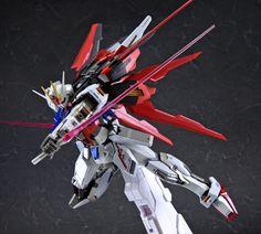 [PREVIEW] BANDAI 2018年8月09日發售: METAL BUILD Series Aile Strike Gundam 24,000Yen - Taghobby.com Mythological Monsters, Gundam Toys, Strike Gundam, Gundam Seed, Robot Design, Gundam Model, Battle, Metal, Mobile Suit