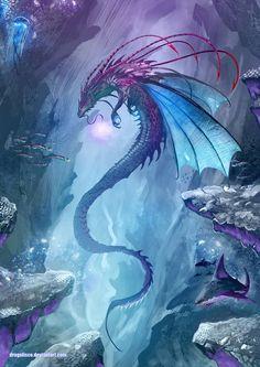 Noisy Pics — King of the Undersea by Dragolisco