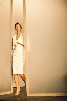 Love this look from Donna Karan