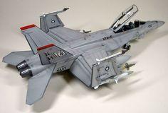 Hasegawa's 1/48 scale  F/A-18F Super Hornet  by   Hubert Ortinger