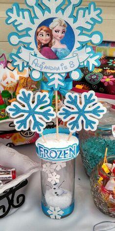 Frozen center piece Elsa and Anna
