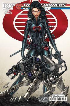 Baroness and Ravage by Jamie Tyndall Transformers and GI Joe Free Comic Books, Comic Book Covers, Comic Books Art, Comic Art, Book Art, Thundercats, Comic Book Characters, Comic Character, Character Ideas
