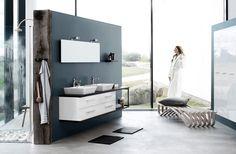 Double Vanity, Bathtub, Bathroom, Home Technology, Bathing, Nice Asses, Standing Bath, Washroom, Bathtubs