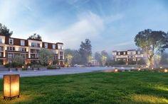Sarai Compound New Cairo 7700 per M , flats , penthouses & Townhouses  #sarai #compound #New_cairo #projects #investment