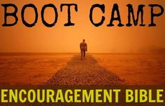 Encouragement Bible: Boot Camp - Satisfaction Through Christ Send your soldier off with some extra encouragement with this simple, but effective, boot camp encouragement Bible tutorial. #military #encouragement #bible