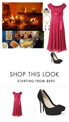 """Surprising William With A Romantic Dinner of His Favorite Foods from the Farmer's Market"" by madeleine-duchessofcam ❤ liked on Polyvore featuring Wild Rose, Jimmy Choo and Jennifer Meyer Jewelry"