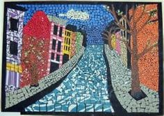 Mosaic Construction Paper Crafts - - Yahoo Image Search Results