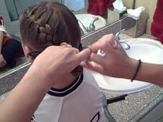 Soccer French Braids video tutorial