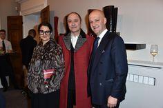 Michele Ciavarella and Giuseppe Santoni  #Santoni #Santonishoes #Woman #MFW