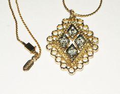 #Vintage #Sarah #Coventry #Candlelite #Rhinestone by Eosophobish, $15.00
