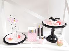 Valentine's Day Sweet Treats Desserts Table Ideas