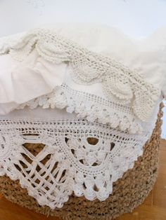 Evelyn and Rose: Crochet Edging Around the Home