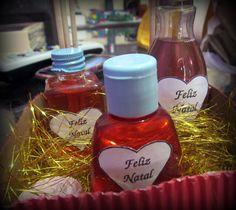 Kit de natal com aromatizadores de ambientes e sabonete líquido