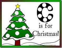 COHS Christmas preschool pack