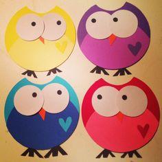 Owl door decs!