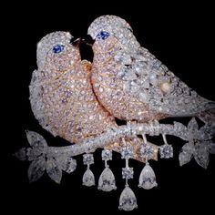 Our new collection of unique diamond bird brooches perfectly embody the Graff artisan's passion, patience and unmatched skill. #GraffDiamonds #DiamondBrooch #BirdBrooch #FineJewellery #DiamondDesign #PinkDiamond