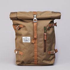 Flatspot - Poler Rolltop Backpack Pack Olive