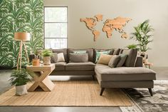 #accessories #world #inspiration Decor, Living Room, Furniture, Room, House, Sectional Couch, House Styles, Home Decor, Inspiration