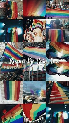 Respect the rainbow