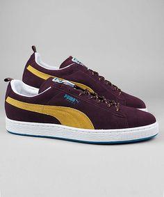 Puma Suede Classic Eco Trail winetasting/arrowwood/turkish tile #puma #sneakers #shoes #streetwear #men www.neverending-shop.de  || AcquireGarms.com