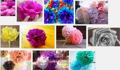 Bloemen maken van papier
