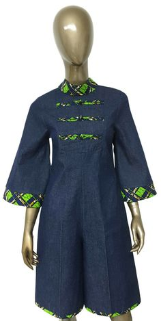African Dresses For Kids, African Print Dresses, African Print Fashion, Africa Fashion, African Fashion Dresses, African Prints, Fashion Outfits, Men's Fashion, African Attire