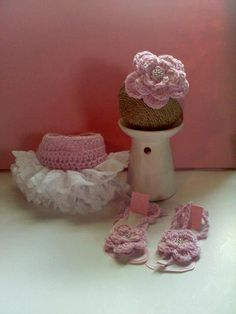 Lace Ruffle Diaper Cover Barefoot Baby Sandals .... adoable