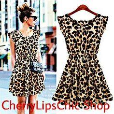 Vestito leopardato/ Leopard dress