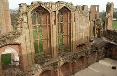 John of Gaunt's great hall at Kenilworth, one of the most magnificent rooms in England.