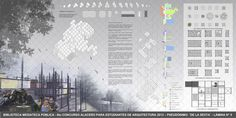 """Resultado do """"VI Concurso Alacero 2013"""" de projeto em aço para estudantes de arquitetura,Segundo Lugar Prancha 5"""