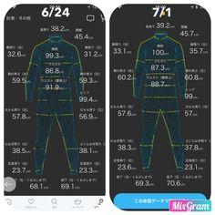 ZOZOスーツで計測ダイエット ゆる糖質制限とワンダーコア2で筋トレ 2週目   ちばいえ