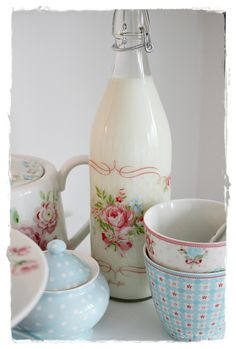 ohh looks like  cath kidston  maybe it is love it WELCOME TO INTERIOR WITH COLORS : GreenGate