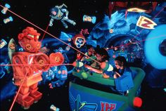 Tips and tricks for improving your score on Buzz Lightyear's Space Ranger Spin attraction in Walt Disney World Resort near Orlando, Florida. Disney World Resorts, Disney Parks, Disney Pixar, Walt Disney World Rides, Disney Sidekicks, Disney World Florida, Disney World Vacation, Disney Vacations, Disney Love