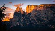 Alpine Glow at the Sciliar Massive South Tyrol, Travel Photos, Monument Valley, Tourism, Glow, Boat, Italy, Vacation, Mountains