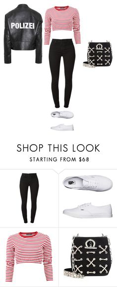 """""""Untitled #202"""" by dyniesha ❤ liked on Polyvore featuring Vans, Dolce&Gabbana, Alexander Wang and Vetements"""