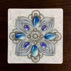 kleurplaten edelstenen on Pinterest | Zentangle, Gems and Tangled