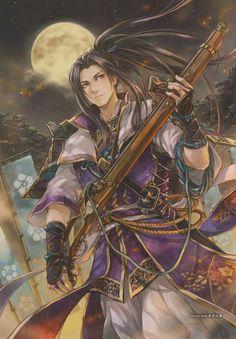 Samurai Warriors- Mitsuhide Akechi