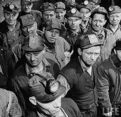 1945 Pennsylvania Coal Miner Strike ~ Rivet Head