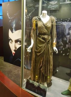 Original costume worn by Angelina Jolie as Maleficent