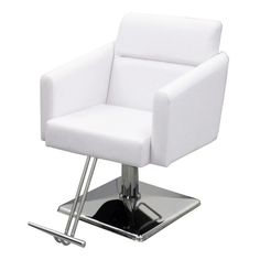 Bria Styling Chair - The Bria styling chair is both stylish and comfortable, with molded foam seats and fully upholstered. Available in White. Salon Furniture, Foot Rest, Chair, Shop, Home Decor, Pedicure Spa, Lounge Furniture, Decoration Home, Ottomans