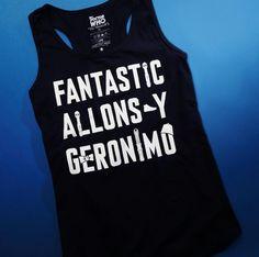 *WHO* needs a new tank? // Doctor Who Geronimo Girls Tank Top