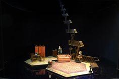 A scenic design model of #TheGlassMenagerie by #TonyAwards nominated designer #BobCrowley.