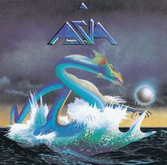 Asia, the album/band. Loved that one! Totally reminds me of my summers skating in Lake Placid. Only time will tell! 80s Album Covers, Classic Album Covers, Music Covers, Rock And Roll, Pop Rock, Patrick Nagel, Lp Cover, Cover Art, Vinyl Cover
