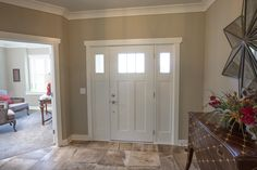 Tile: Porada by Dal Tile Color: Soft Taupe J. Dal Tile, Flooring Store, Vinyl Tiles, Parade Of Homes, Color Tile, Custom Homes, Evans, Ohio, Taupe