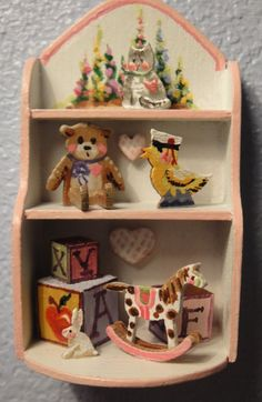 IGMA Fellow Karen Markland's Girl's Toy Shelf Signed