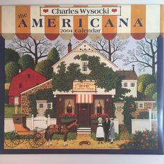 Charles Wysocki Calendar Art Prints Americana New England Country Seaside 2004