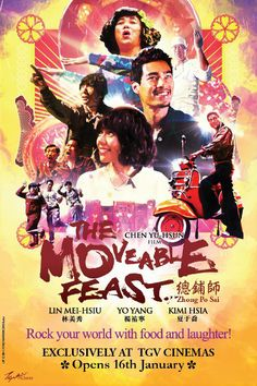 The Moveable Feast. Rock your world with food and laughter! 16th January.