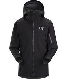 GORE-TEX big mountain skiing and snowboarding jacket with a flannel backer.